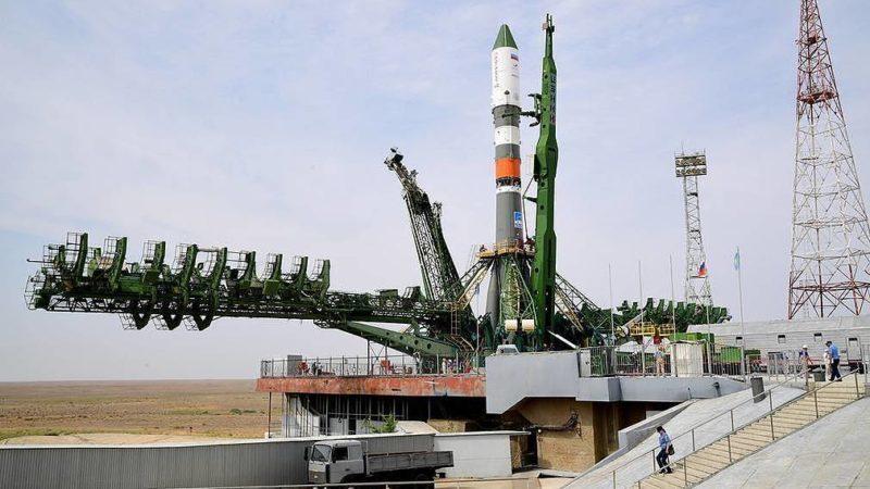 Russian soyuz spacecraft