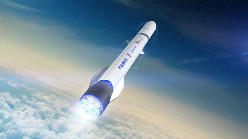 Blue Origin's New Glenn Rocket a reusable rocket
