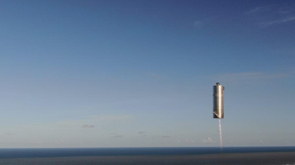 Starship SN5 Hop 150m